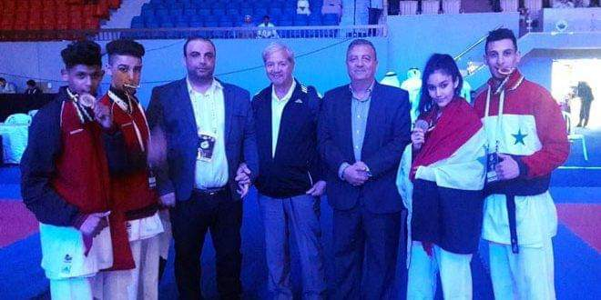Photo of Syria wins 11 medals at West Asia Karate Championship