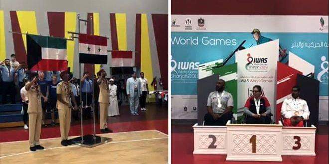 Photo of Syria wins gold medal at wheelchair badminton competition within IWAS Championship