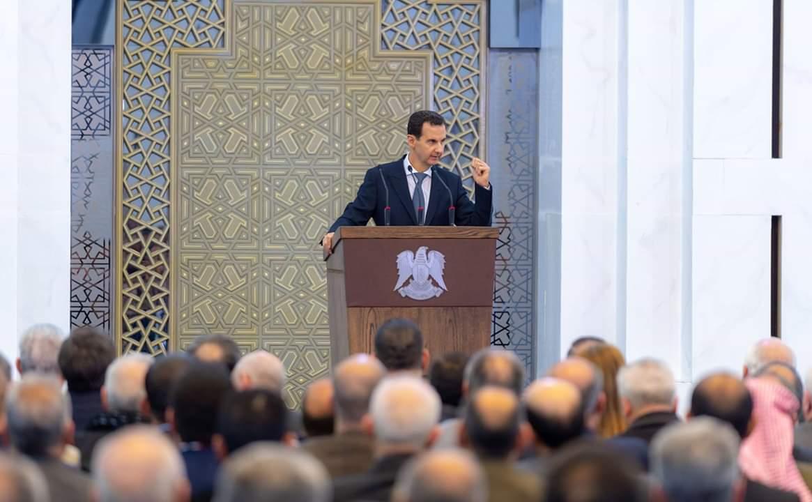 """Photo of الرئيس الأسد: أردوغان """"أخونجي"""" و أجير صغير عند الأمريكي"""
