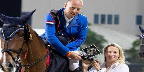 Photo of Syrian equestrian achieves good results at Dubai Show Jumping Championship