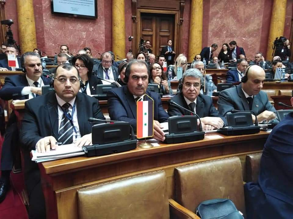 Photo of Syria participates in Parliamentary Assembly of the Mediterranean meeting