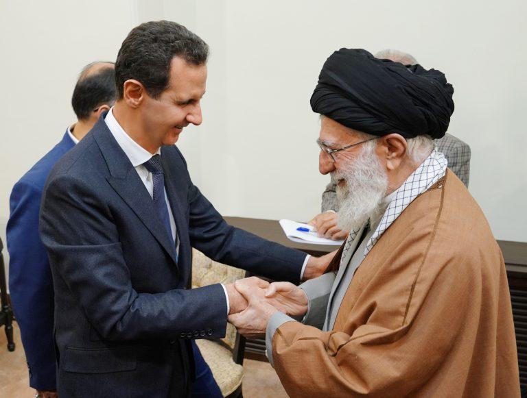 "Photo of الرئيس الأسد يزور ""طهران"""