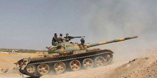 Syrian Arab Army repels infiltrating terrorists in northern Hama