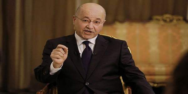 Photo of Iraqi President: Trump's declaration on occupied Syrian Golan rejected