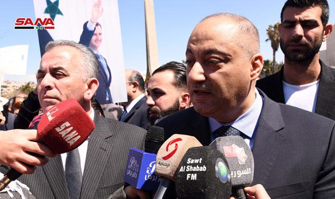 Photo of وزير الإعلام: الجولان سيبقى أرضا عربية سورية