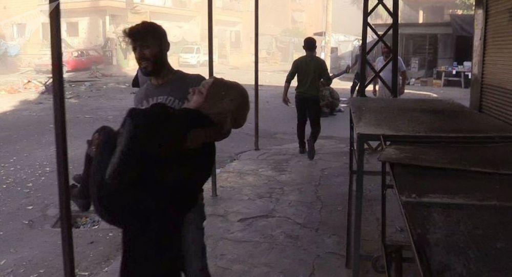 Photo of شهداء بينهم أطفال جراء قصف التحالف الدولي مخيم الباغوز بدير الزور