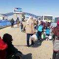 خلال ٢٤ ساعة.. عودة ٧٠٠ لاجئ سوري إلي الوطن