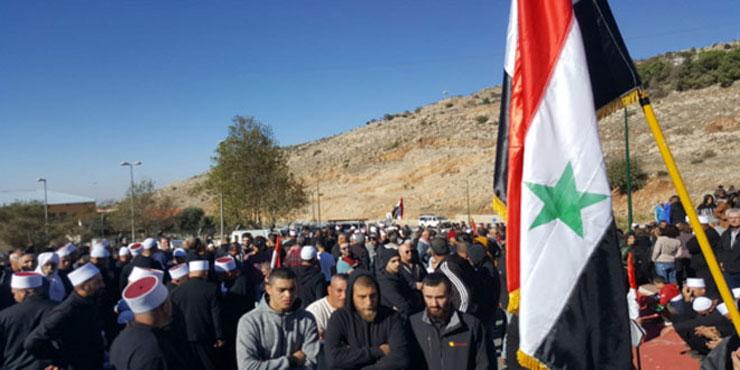 Photo of أبناء القنيطرة والجولان المحتل: الجولان سيبقى سورياً رغم أنف الأعداء