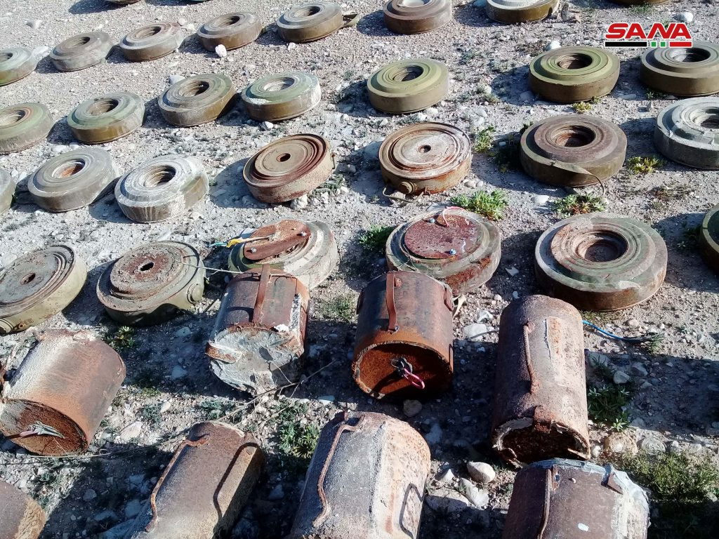 Photo of الجيش يفكك إرهاب داعش بريف حمص الشرقي