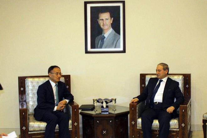 "Photo of اجتماع ""سوري-صيني"" لبحث العلاقات الثنائية"