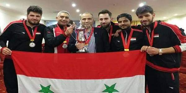 Photo of Syrian Team for Chess ranks second in Arab Championship