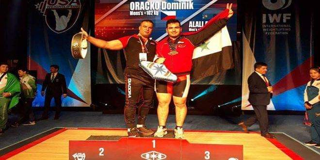 Photo of Athlete Ahmad Ali gains three bronze medals in Weightlifting World Championship