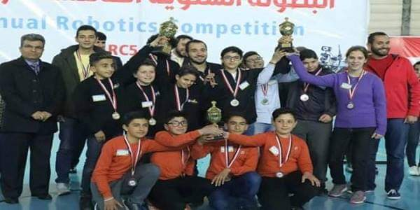 Photo of Winning teams in 5th national robotic competition announced