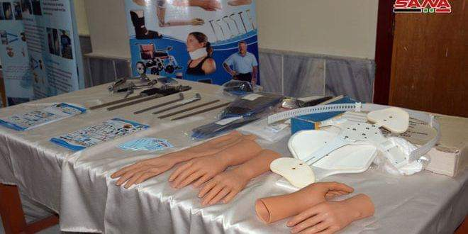 Photo of Prosthetics Center at Al-Baath University designs new smart prosthetic arm