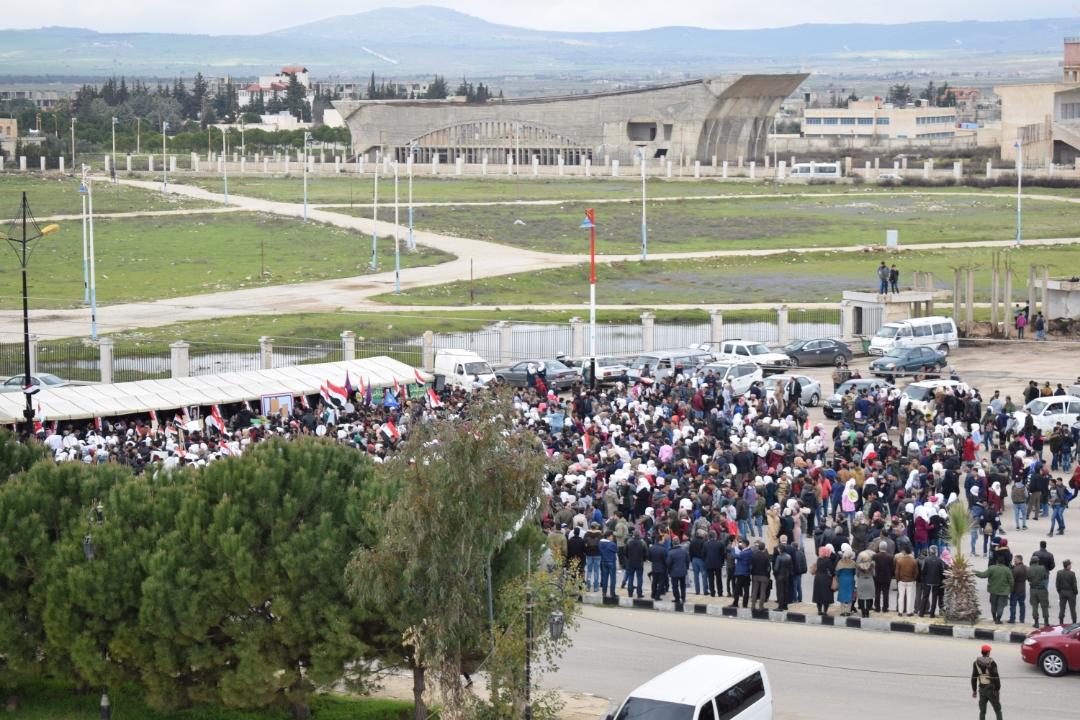 Photo of وقفة احتجاجية في القنيطرة ضد قرار ترامب (صور)