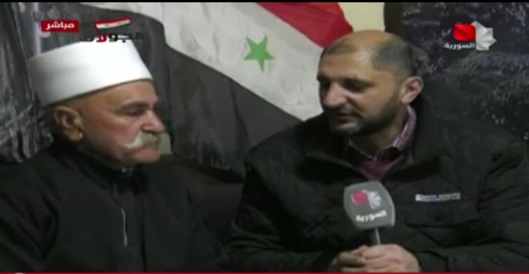 Photo of تقرير التلفزيون السوري- أبناء الجولان المحتل في قرية مسعدة يتحدثون قرار ترامب