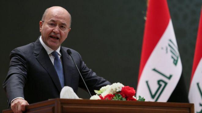 Photo of الرئيس العراقي: نرفض إعلان ترامب حول الجولان السوري المحتل