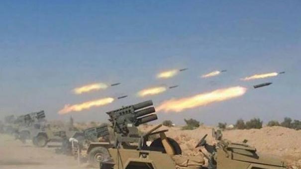 """Photo of القصف التمهيدي بدأ… الجيش السوري سيجتاح مناطق """"النصرة"""" في الشمال بإدلب"""