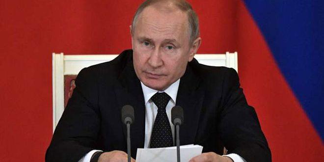 Photo of بوتين يؤكد رفض روسيا لإعلان ترامب حول الجولان السوري المحتل