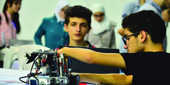 Photo of 13 فريقاً سورياً في البطولة الدولية للروبوت التعليمي