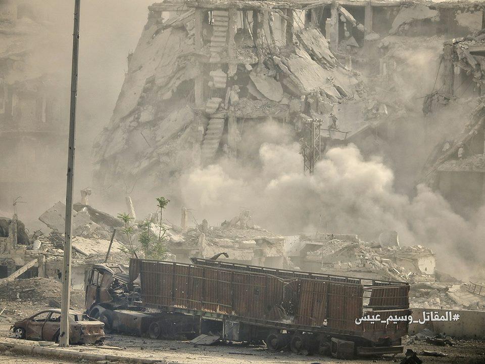 "Photo of الجيش يُدمر أليات لـ ""إرهابيي النصرة"" بريف ادلب"