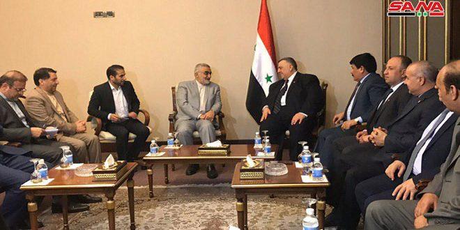 "Photo of مباحثات ""سورية – ايرانية"" لتعزيز العلاقات الثنائية"