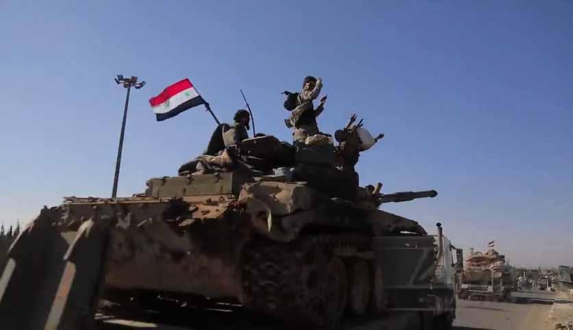 Photo of بالفيديو- الجيش يرسل تعزيزات عسكرية إلى خطوط النار لبدء معركة إدلب