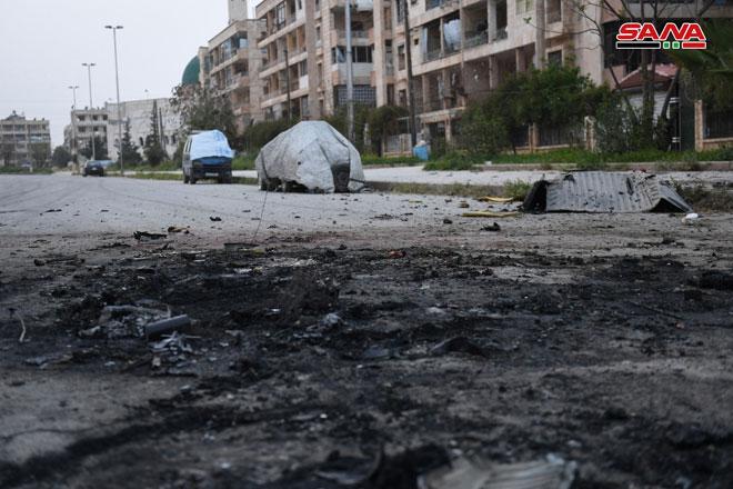 Photo of ١١ شهيد بقذائف إرهابية علي حلب