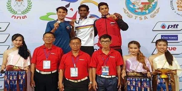 Photo of Silver, bronze medals for Syria in 1st day of Thailand Int'l Swimming Championship