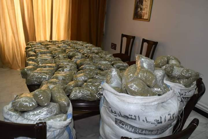 Photo of One hundred and twenty kg of narcotic hashish seized in Homs countryside