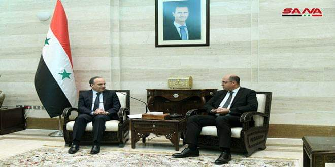 Photo of Premier Khamis meets Lebanese Agriculture Minister