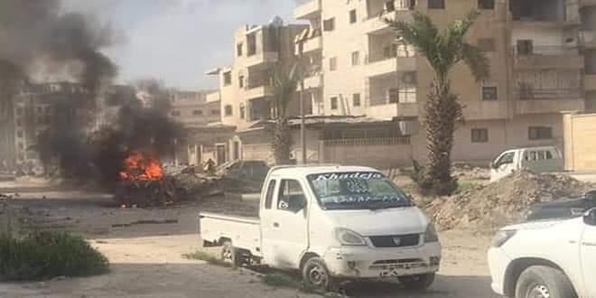 Photo of Nine civilians killed in explosives left behind Daesh terrorists in Raqqa