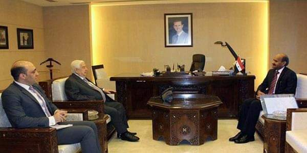 Photo of Al-Moallem receives credentials of new Indian Ambassador to Syria