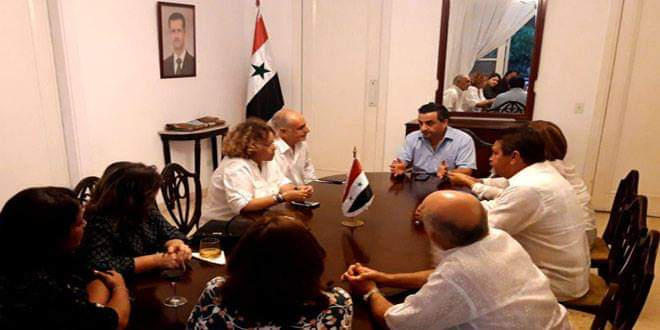Photo of Cuban journalists affirm Syria's victory over terrorism