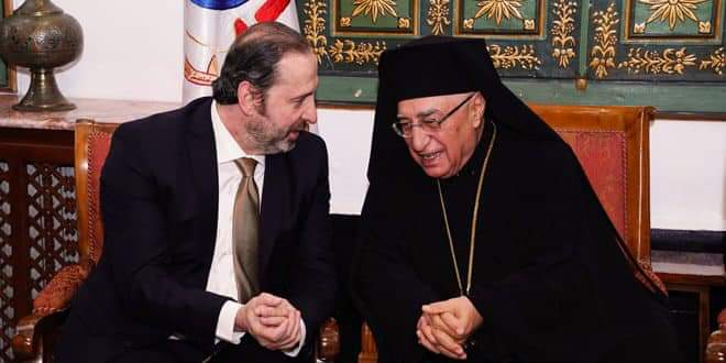 Photo of Presidential Affairs Minister congratulates heads of Christian denominations on occasion of Easter