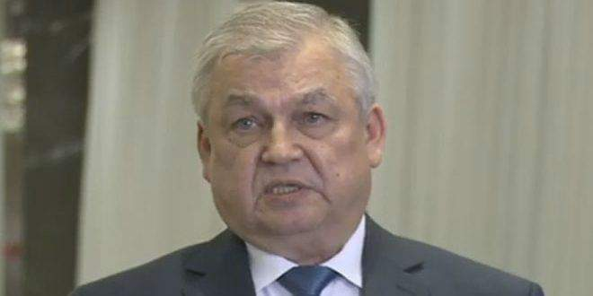 Photo of Lavrenteiv says there is a determination to continue fight against terrorism in Syria