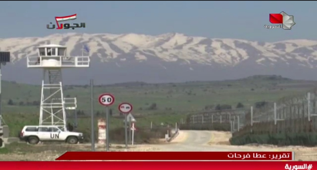 Photo of تقرير التلفزيون السوري- مخططات صهيونية لتهويد وإقامة آلاف الوحدات الاستيطانية