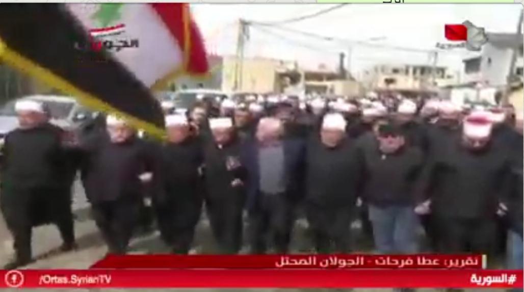 Photo of تقرير التلفزيون السوري- أهلنا بالجولان المحتل جنود خلف خطوط العدو قولاً وفعلاً