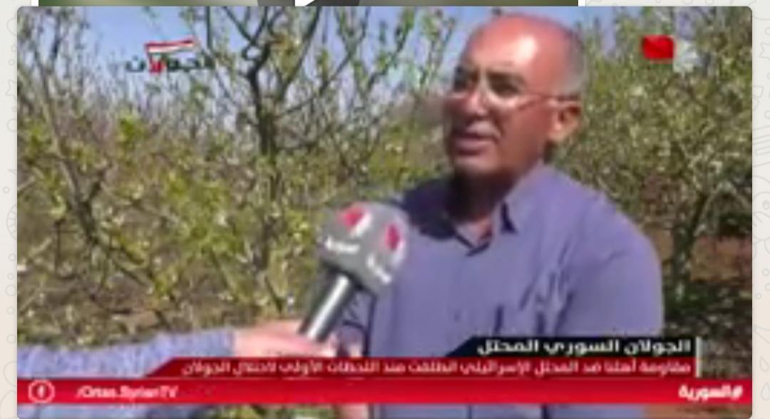 Photo of تقرير التلفزيون السوري-   عاصم الولي عميد من عمداء اسرانا في سجون الاحتلال