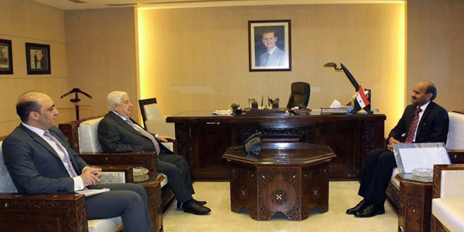 Photo of تعين سفير جديد للهند بـ سوريا