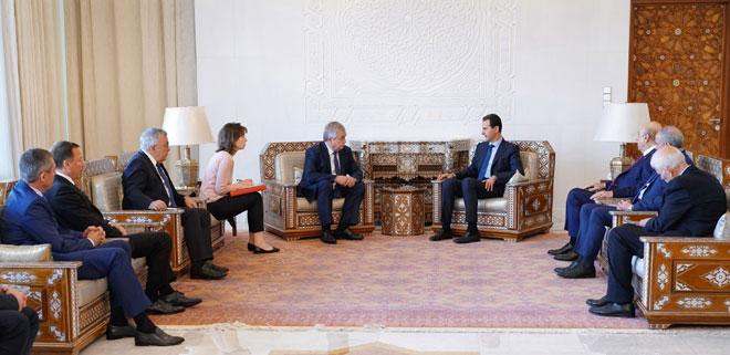 Photo of مبعوث بوتين إلى سوريا يجري محادثات مع الأسد