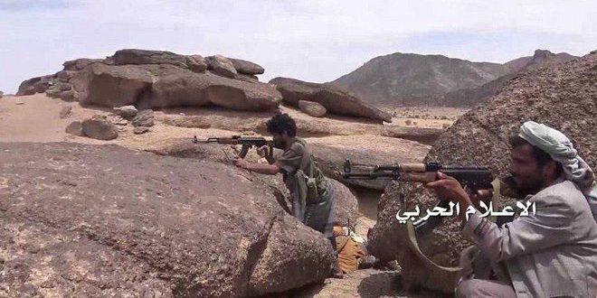 "Photo of ""المقاومة اليمنية"" تقتل وتصيب عدداً من مرتزقة العدوان السعودي في نجران"