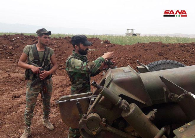 "Photo of بالصور- ""تل هواش"" بريف حماة بيد الجيش العربي السوري"