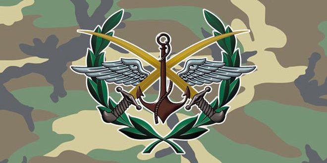 Photo of الجيش ينفي استخدام سلاح كيميائي بريف اللاذقية