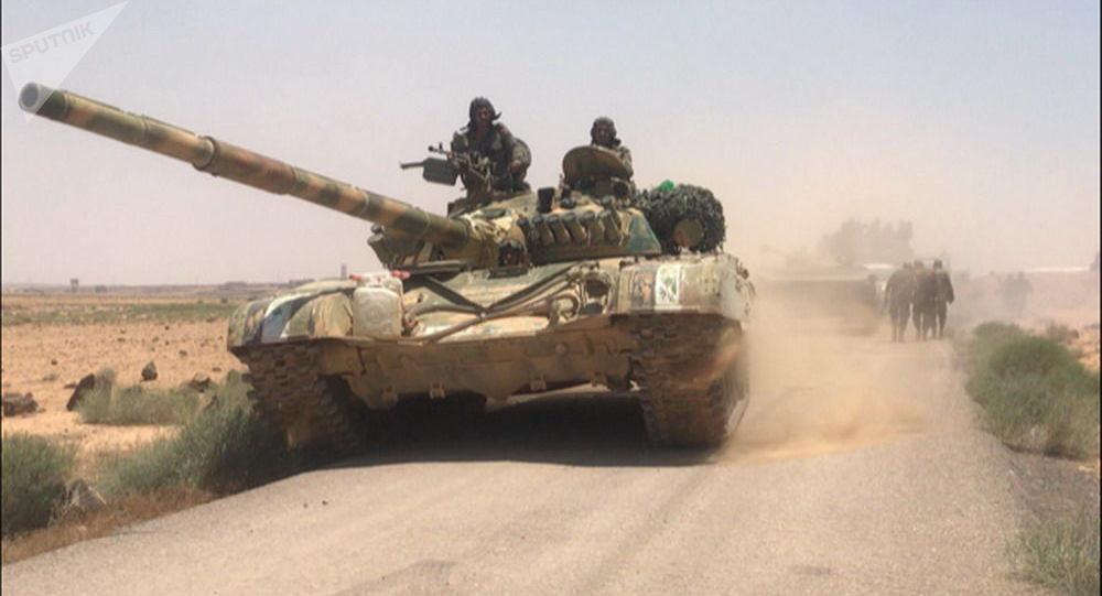 """Photo of الدفاع الروسية: الجيش السوري يقضي على أكثر من 150 مسلحا لـ""""النصرة"""" جنوب إدلب ويدمر آلياتهم"""