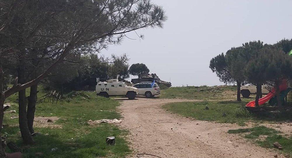 "Photo of بالصور – توغل إسرائيلي جنوب سوريا تزامنا مع استعداد الجيش لمعركة""تحرير إدلب"""