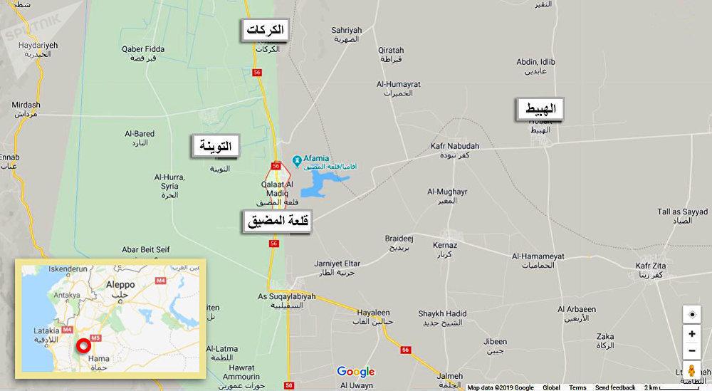 Photo of بالخريطة – انجازات الجيش بريف حماة الشمالي