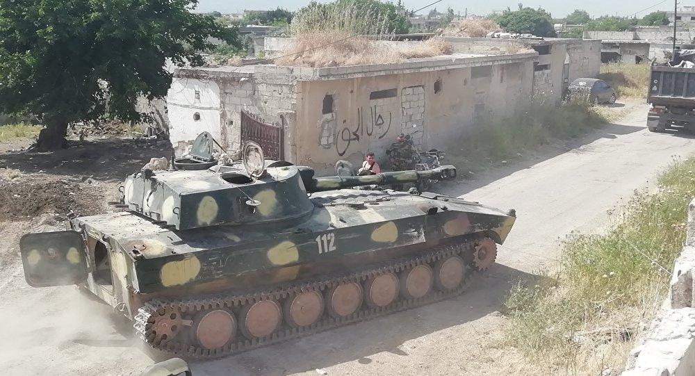 Photo of عمليات ريف حماة.. إحباط هجوم إرهابي على امتداد محور قريتي باب الطاقة والحويز الشرقية