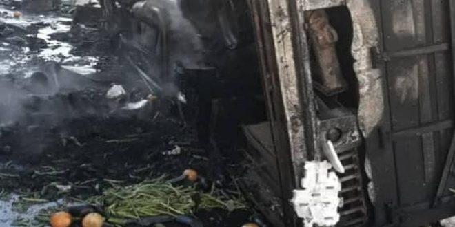 Photo of وفاة 3 أشخاص في حادثين مروريين بدمشق وريفها