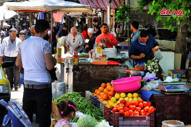 Photo of أسواق دمشق في رمضان